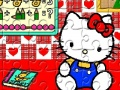Oyun Hello Kitty Jigsaw 49 ədəd Puzzle. Online Play